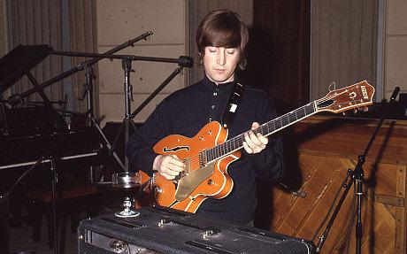 John_Lennon_Gretsch